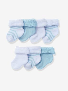 Baby clothing 0-18 months, newborn boy clothing, baby boy fashion clothes - Vertbaudet-Baby-Babys Pack of 7 Bootees