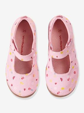 Shoes-Girls Footwear 23-38-Slippers-Girls Canvas Mary Jane Slippers