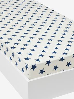Bedroom-Child's bedding-Fitted Sheet, Explorer Theme