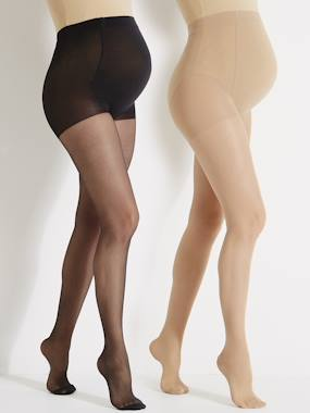 New collection-Maternity-Pack of 2 Maternity Voile Tights