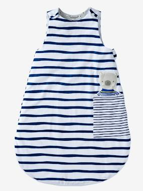 Bedroom-Baby's bedding-Baby sleep bag-Summer Baby Sleep Bag, Fun Sailor Theme