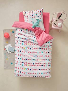 Bedroom-Child's bedding-HEARTS Duvet Cover & Pillowcase