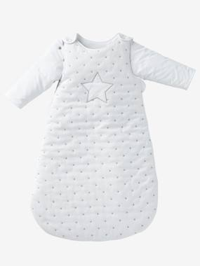 Bedroom-Baby's bedding-Baby sleep bag-Sleep Bag with Removable Sleeves, Star Shower Theme