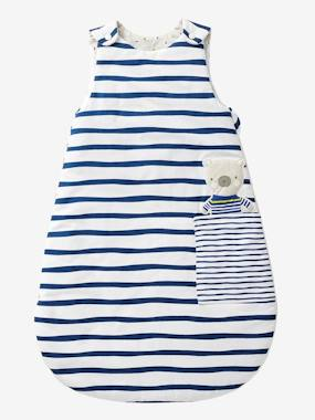 Bedroom-Baby's bedding-Baby sleep bag-Sleeveless Sleep Bag, Fun Sailor Theme
