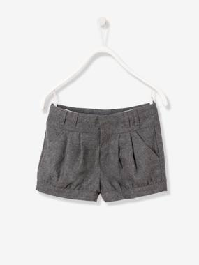 New Collection Fall Winter - Vertbaudet | Quality French Clothes for Babies & Children-Girl-Girls' Wool Shorts