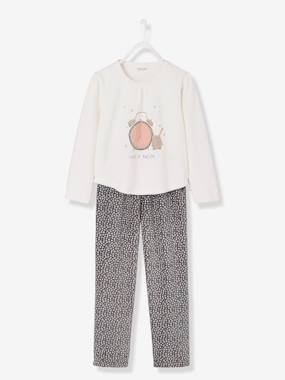 Girl-Girls' Velour Pyjamas