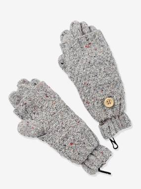Girl-Accessories-Girls' Gloves/Fingerless Gloves Set