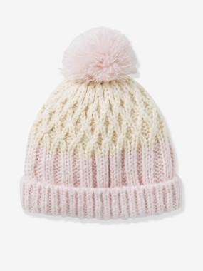 Girl-Accessories-Girls' Two-Tone Beanie
