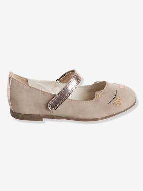 Shoes-Girls Footwear 23-38-Ballerina Shoes-Ballerinas with Touch 'n' Close Fastening