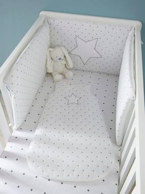 Bedroom-Baby's bedding-Baby sleep bag-Sleeveless Sleep Bag, Star Shower Theme