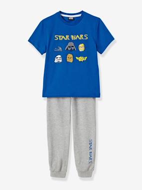 Boy-Nightwear -Boys' Short-Sleeved Pyjamas with Star Wars® Patches