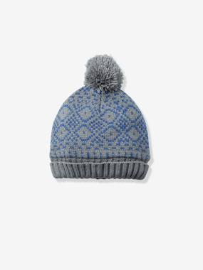Boy-Boys' Lined Beanie