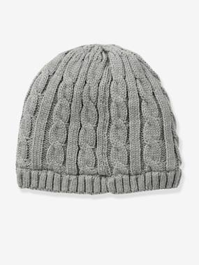 Boy-Accessories -Boys' Cable Knit Beanie