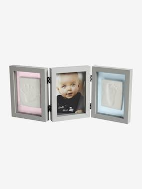 Decoration-Lighting -Night Lights-Three-Section Frame for Baby Hand or Foot Mould, by Vertbaudet