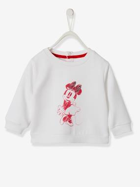 Baby-Jumpers, Cardigans & Sweaters-Sweaters-Minnie® Sweatshirt with Sequins, for Girls