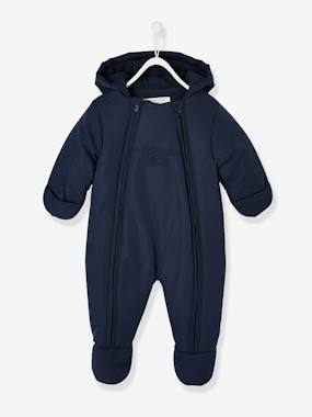 Baby-Pramsuit with Double Opening, for Babies
