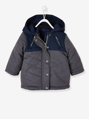 Coat & Jacket-3-in-1 Parka with Detachable Jacket, for Baby Boys
