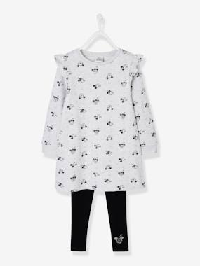 Licence-Fille-Ensemble robe + legging Disney Minnie®