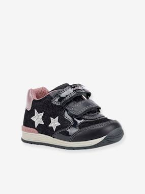 Shoes-Baby Footwear-Baby Girl Walking-Rishon Girl A Mid Trainers for Baby Girls, by GEOX®