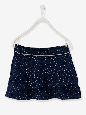 Vertbaudet Collection-Girls-Skirts-Skirt with Asymmetric Frills, for Girls
