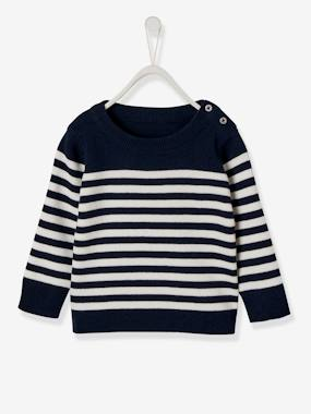 Baby-Jumpers, Cardigans & Sweaters-Jumper for Baby Boys