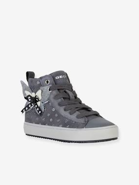 Vertbaudet Collection-Shoes-Kalispera Girl L High Top Trainers for Girls, by GEOX®