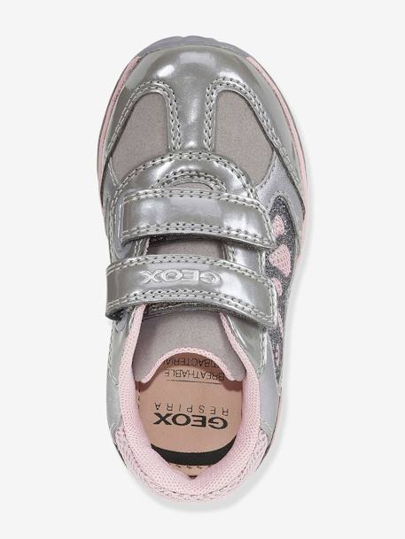 another chance free delivery detailed images Todo Girl A Trainers for Baby Girls, by GEOX® - grey medium solid with  design, Shoes