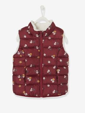 Vertbaudet Collection-Girls-Coats & Jackets-Reversible Waistcoat for Girls