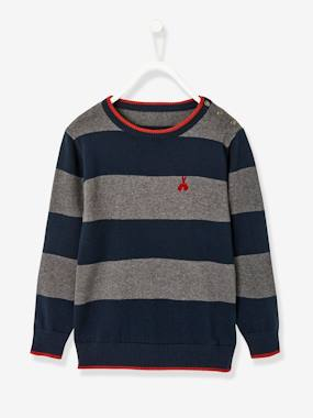 Vertbaudet Basics-Jumper for Boys