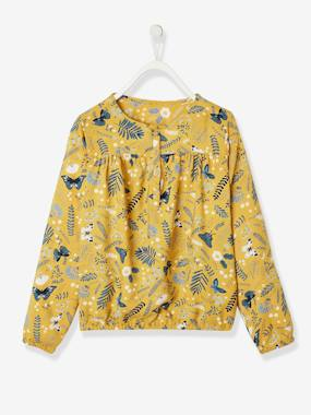 Girls-Blouses, Shirts & Tunics-Printed Blouse for Girls