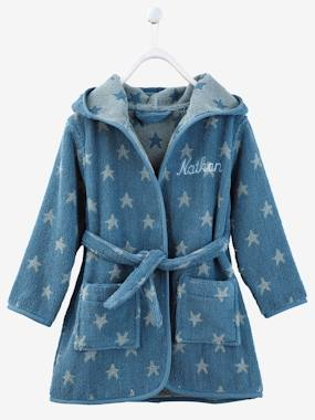 Mid season sale-Bedding-Child's Hooded Bathrobe
