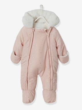 Christmas collection-Baby-Pramsuit with Full-Length Double Opening, for Babies