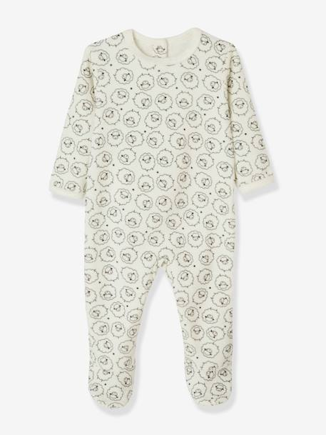 Lot de 3 pyjamas bébé en velours dos pressionné LOT ANTHRACITE+LOT BLEU CLAIR+LOT BLUSH - vertbaudet enfant