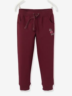 Vertbaudet Collection-Girls-Trousers-Joggers for Girls