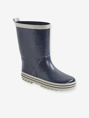 Shoes-Boys Footwear-Boots-Plain Wellies for Boys