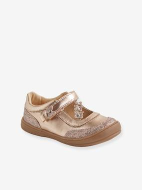 Chaussures-Chaussures fille 23-38-Ballerines, babies-Babies scratchées fille collection maternelle