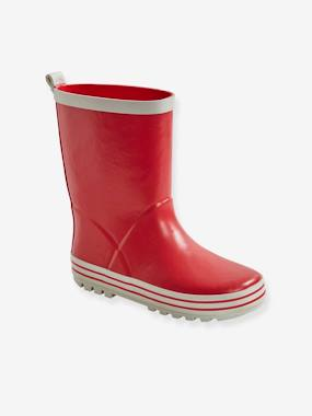 Shoes-Plain Wellies for Boys