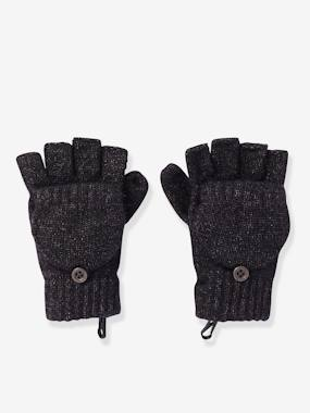 Boys-Accessories-Winter Hats, Scarves & Gloves-Convertible Mitten Gloves, for Boys