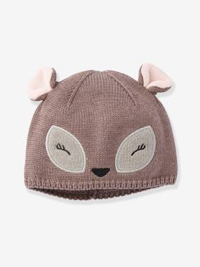 Baby-Hats & Accessories-Stylish Beanie, for Baby Girls