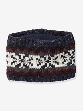 Boys-Accessories-Jacquard Knit Snood for Boys