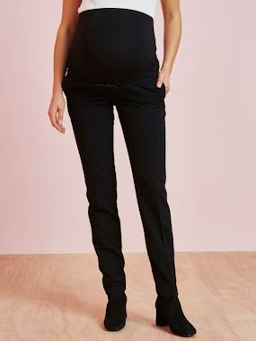 Maternity-Trousers-Maternity Cigarette Trousers