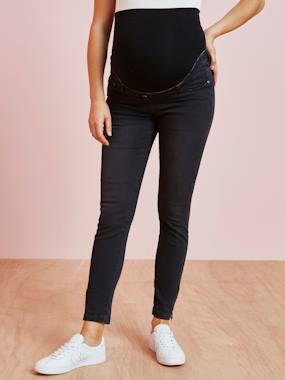 Vertbaudet Collection-Maternity-Maternity 7/8 Slim Leg Jeans