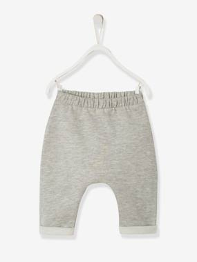 Baby-Trousers & Jeans-Trousers in Cotton Fleece, for Newborn Babies