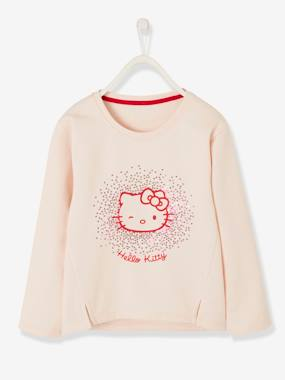 Licence-Fille-Sweat-shirt fille Hello Kitty® à paillettes