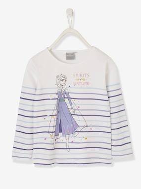 Vertbaudet Collection-Girls-Tops-Long-sleeved Top for Girls, Frozen® by Disney