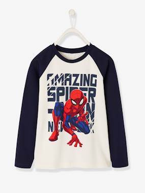 Boys-Tops-T-Shirts-Long-Sleeved Spiderman® Top, for Boys