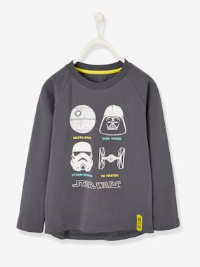 Licence-Boys-Long-Sleeved Star Wars® Top, for Boys