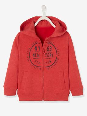 Boys-Sportswear-Jacket with Zip, for Boys