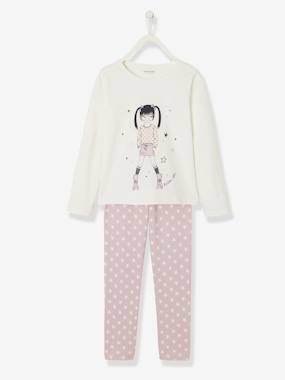 Vertbaudet Basics-Girls-Cotton Pyjamas for Girls