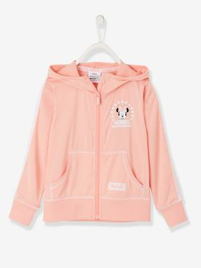 Girls-Cardigans, Jumpers & Sweatshirts-Sweatshirts & Hoodies-Hooded Minnie® Jacket with Zip, for Girls